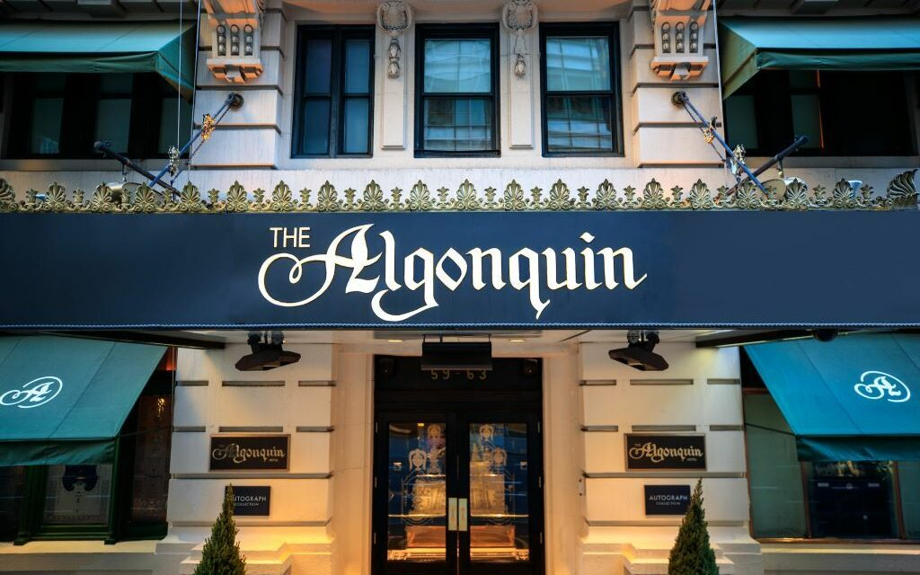 The iconic Algonquin Hotel near Times Square: founded by Southern Jews