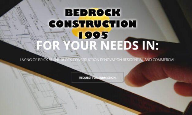 BEDROCK CONSTRUCTION 1995